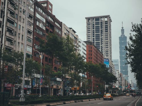 交通, 公寓, 台北101 的 免費圖庫相片