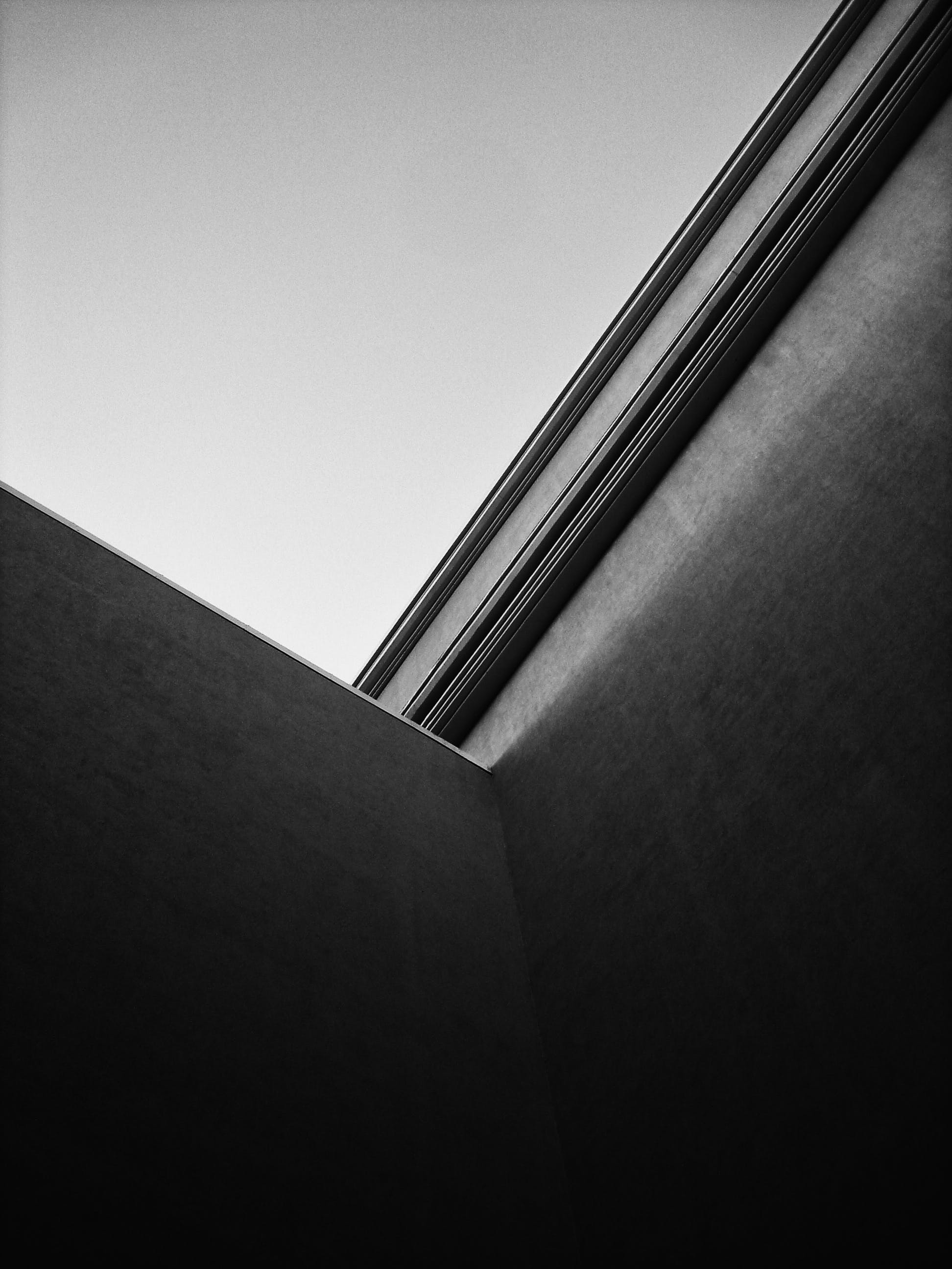 Free stock photo of architecture, black, black and white, city