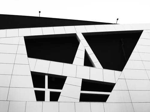 Foto stok gratis Arsitektur, ekaterinburg, hitam, hitam dan putih