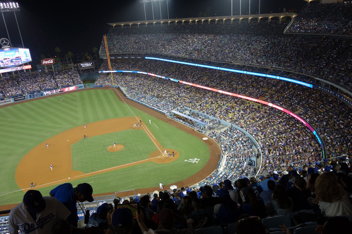 Free stock photo of baseball, los angeles, stadium