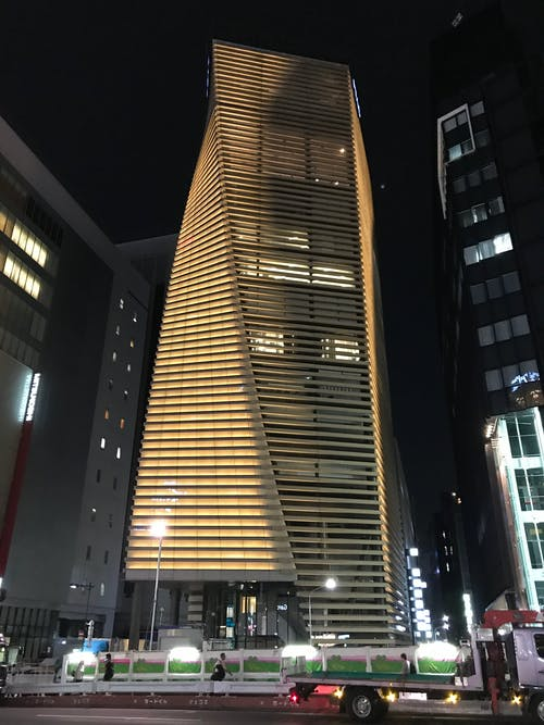 Free stock photo of building, night, tokyo