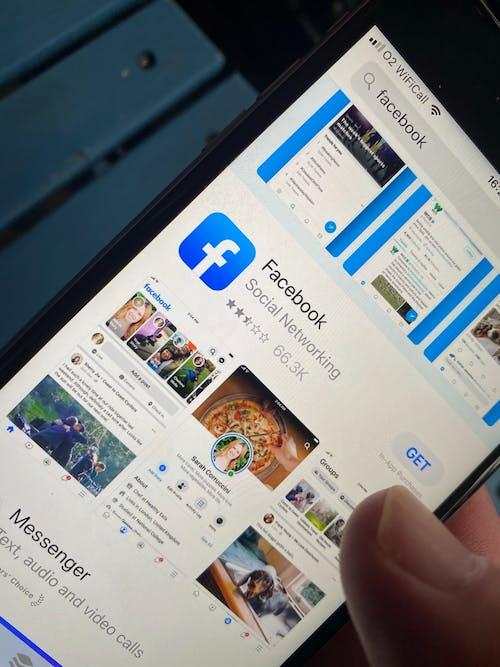 Foto profissional grátis de aplicativo, aplicativo do facebook, app