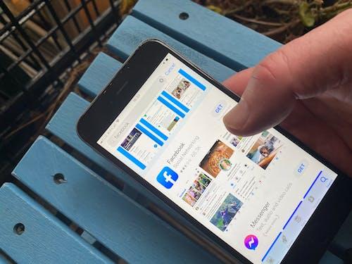 Foto profissional grátis de aplicativo do facebook, assento, Banco