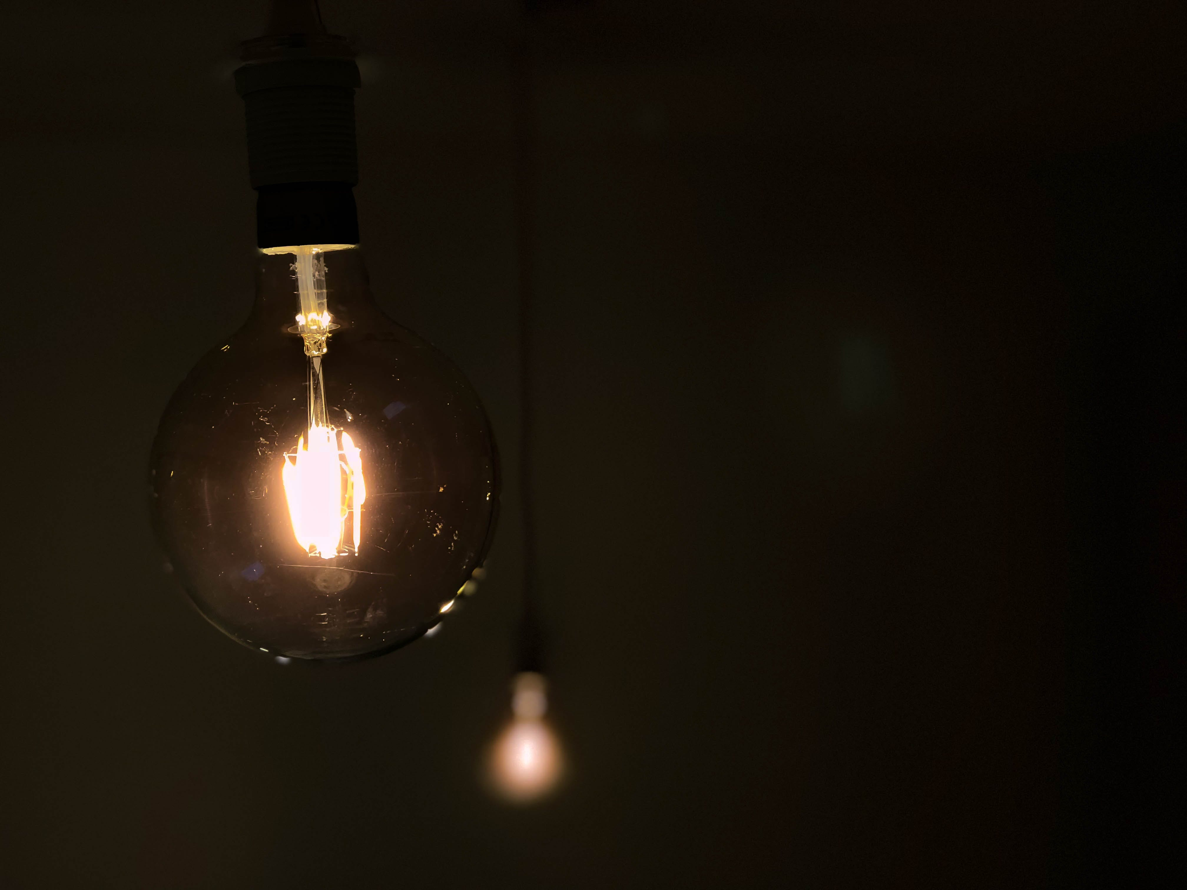 Free stock photo of dark, industrial, light, light bulb