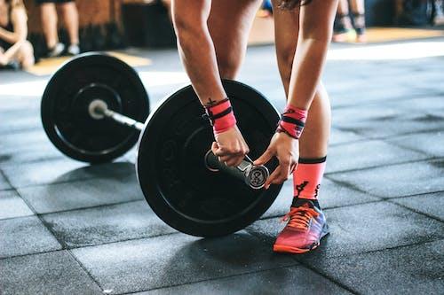 คลังภาพถ่ายฟรี ของ กล้ามเนื้อ, การยกน้ำหนัก, การออกกำลังกาย, กีฬา
