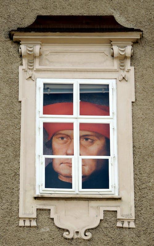 Free stock photo of historic center, paintings, windows