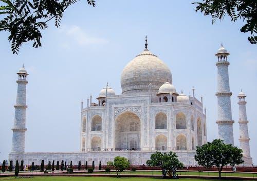 Taj Mahal under Clear Sky