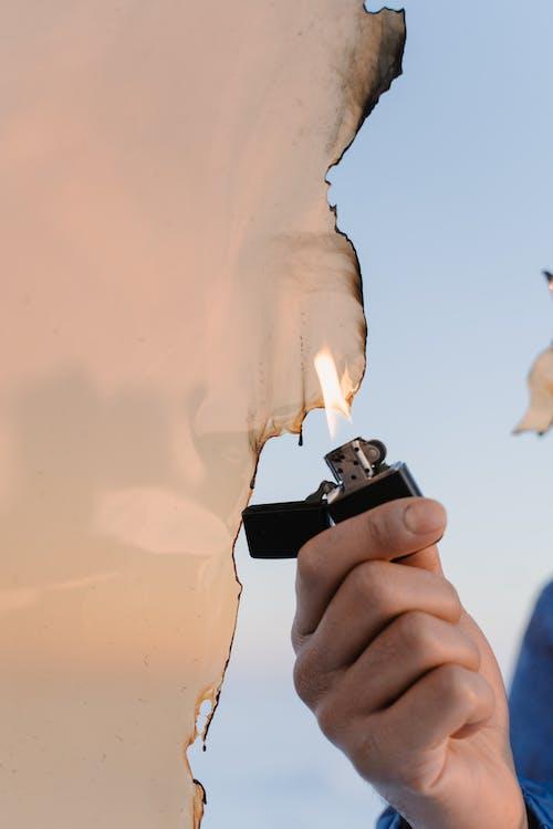 Δωρεάν στοκ φωτογραφιών με copyspace, ανάβω φωτιά, αναπτήρας