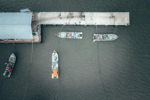 Ilmainen kuvapankkikuva tunnisteilla ajoneuvo, alus, drooninäkymä