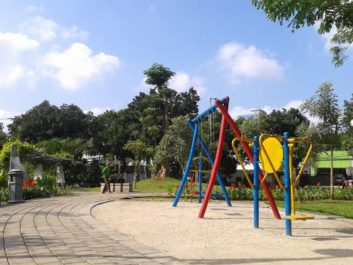 Free stock photo of city park, playground