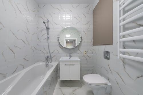 Free stock photo of architecture, bathroom, bathtub