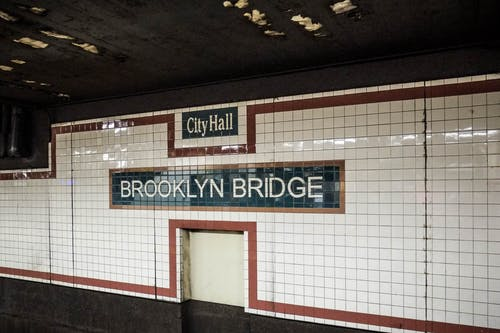 Free stock photo of brooklyn bridge subway station, new york city, nyc, subway