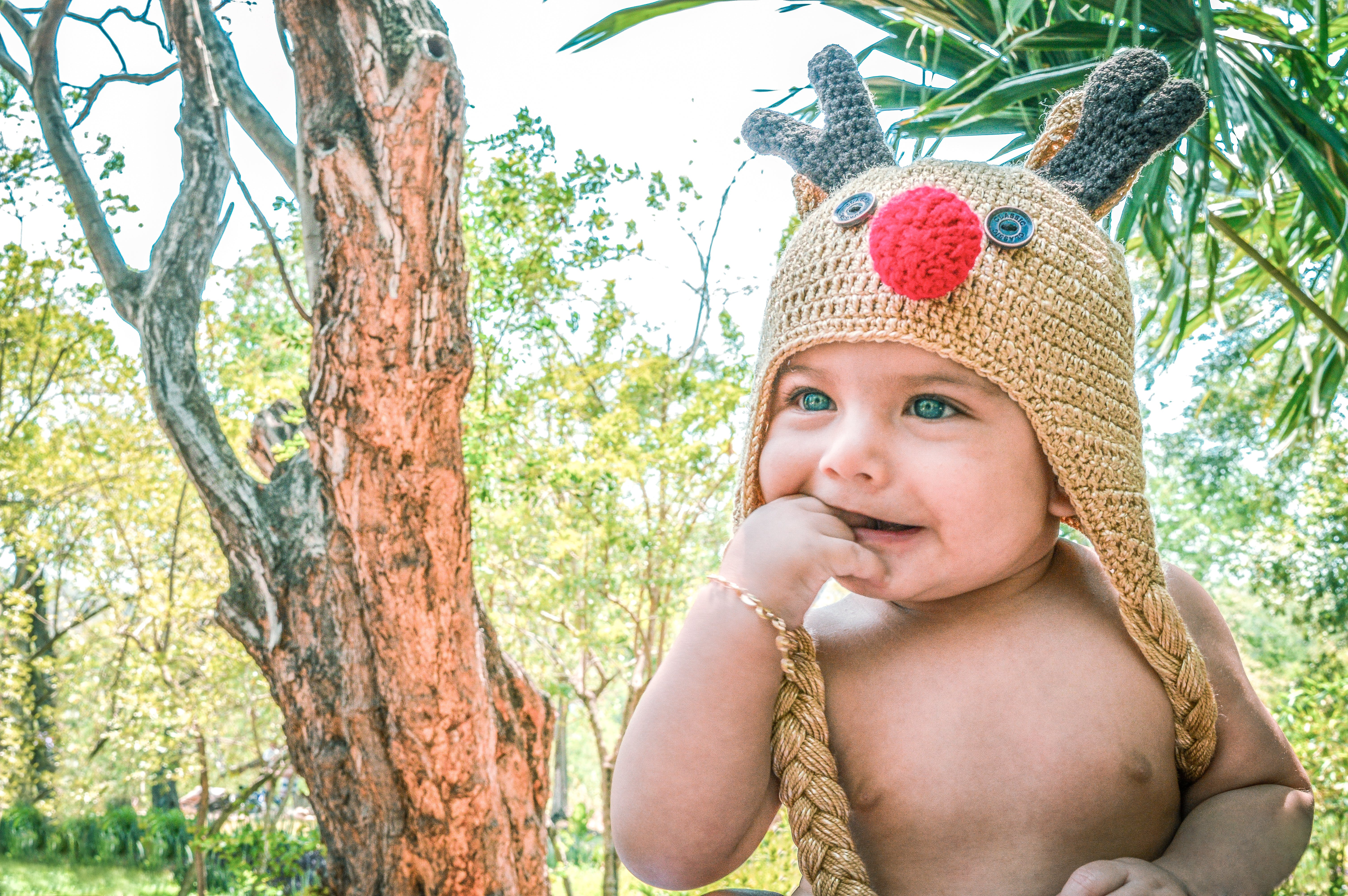 Free stock photo of baby, baby model, natural, nature