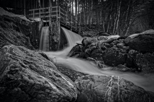 Time-lapse Photography of Waterfalls