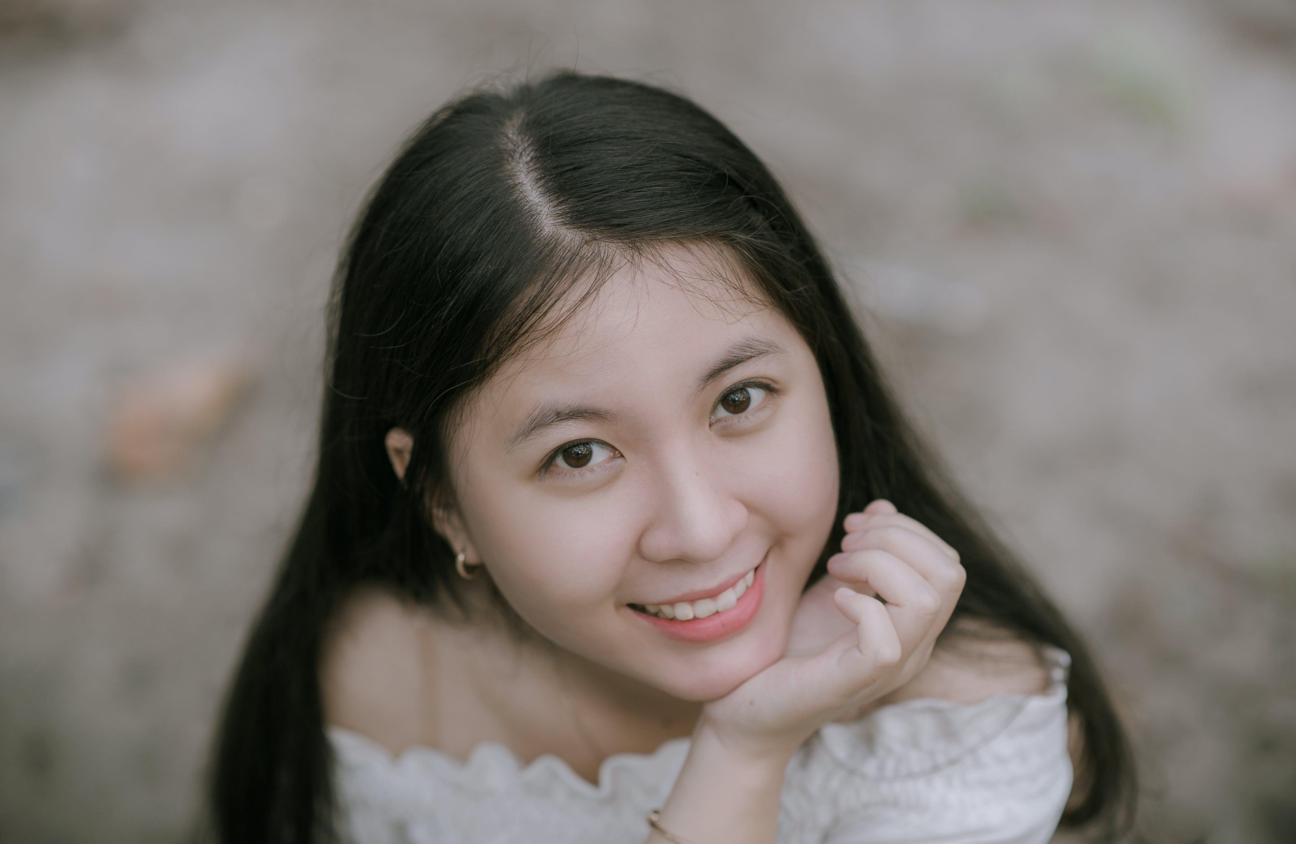 Základová fotografie zdarma na téma asiatka, dlouhé vlasy, hezký, holka