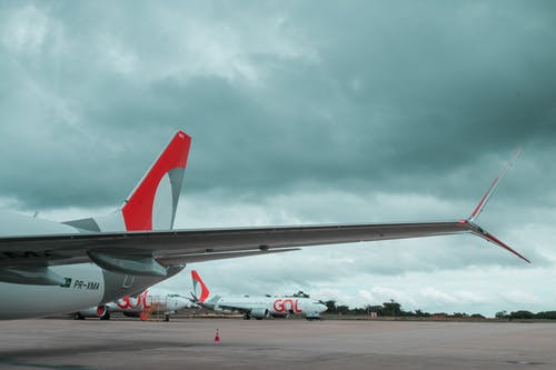 Free stock photo of aeroplane, aircraft wing