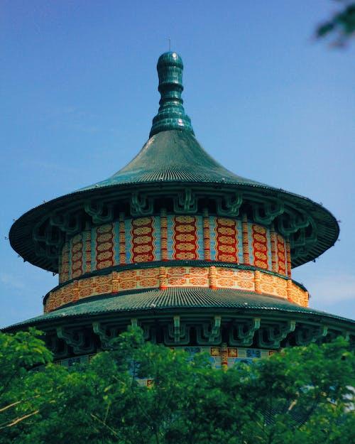 Fotos de stock gratuitas de antiguo, asiático, chino, edificio