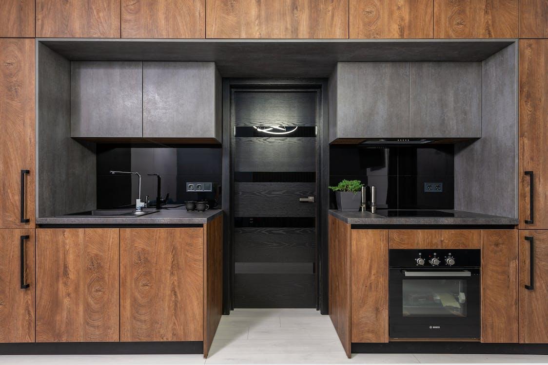 An Interior of a Modern Kitchen