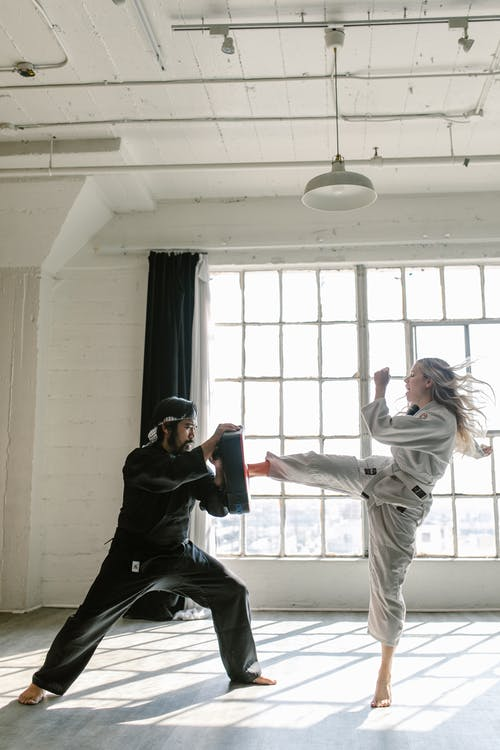 Free stock photo of action, adult, aikido
