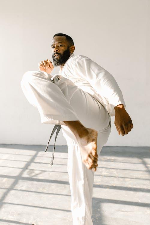 Free stock photo of aikido, arawaza, black belt