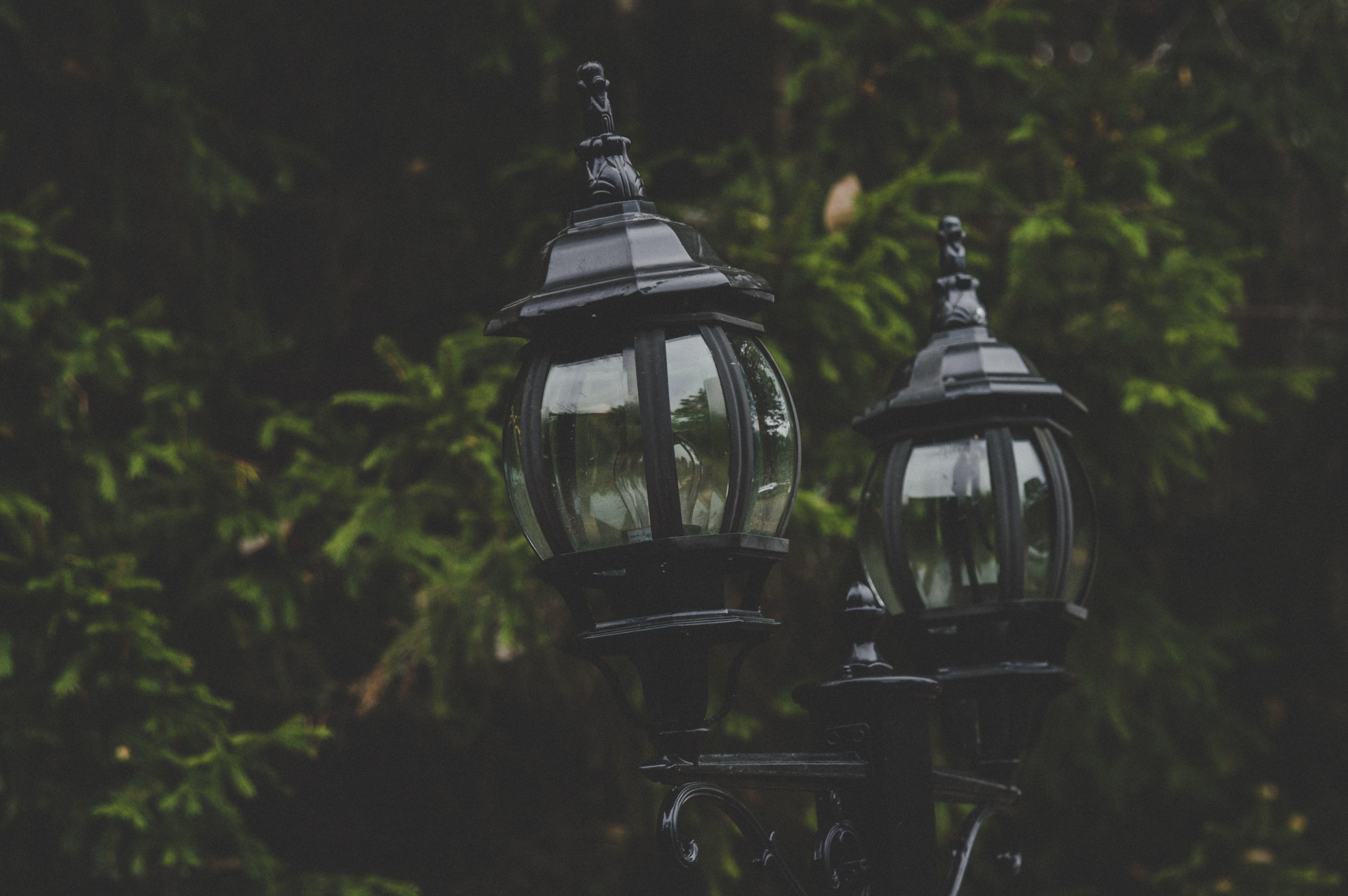 Black Street Lamps