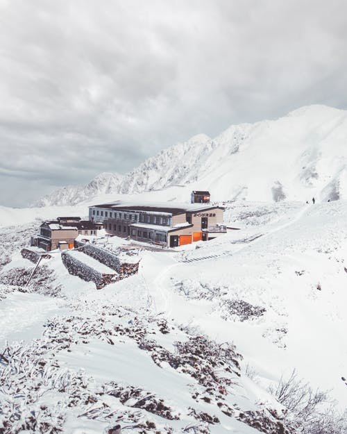 Free stock photo of alpine, chalet, cold