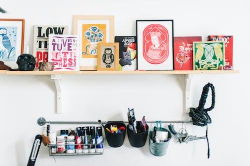 圖書, 塗料, 室內, 工作 的 免费素材照片