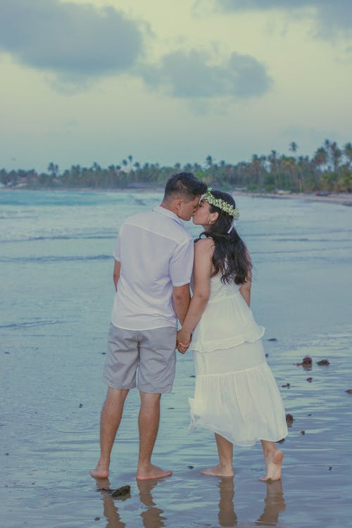 Free stock photo of affection, beach, family