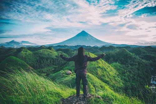 Ilmainen kuvapankkikuva tunnisteilla hauska, luonto, mäet, maisema