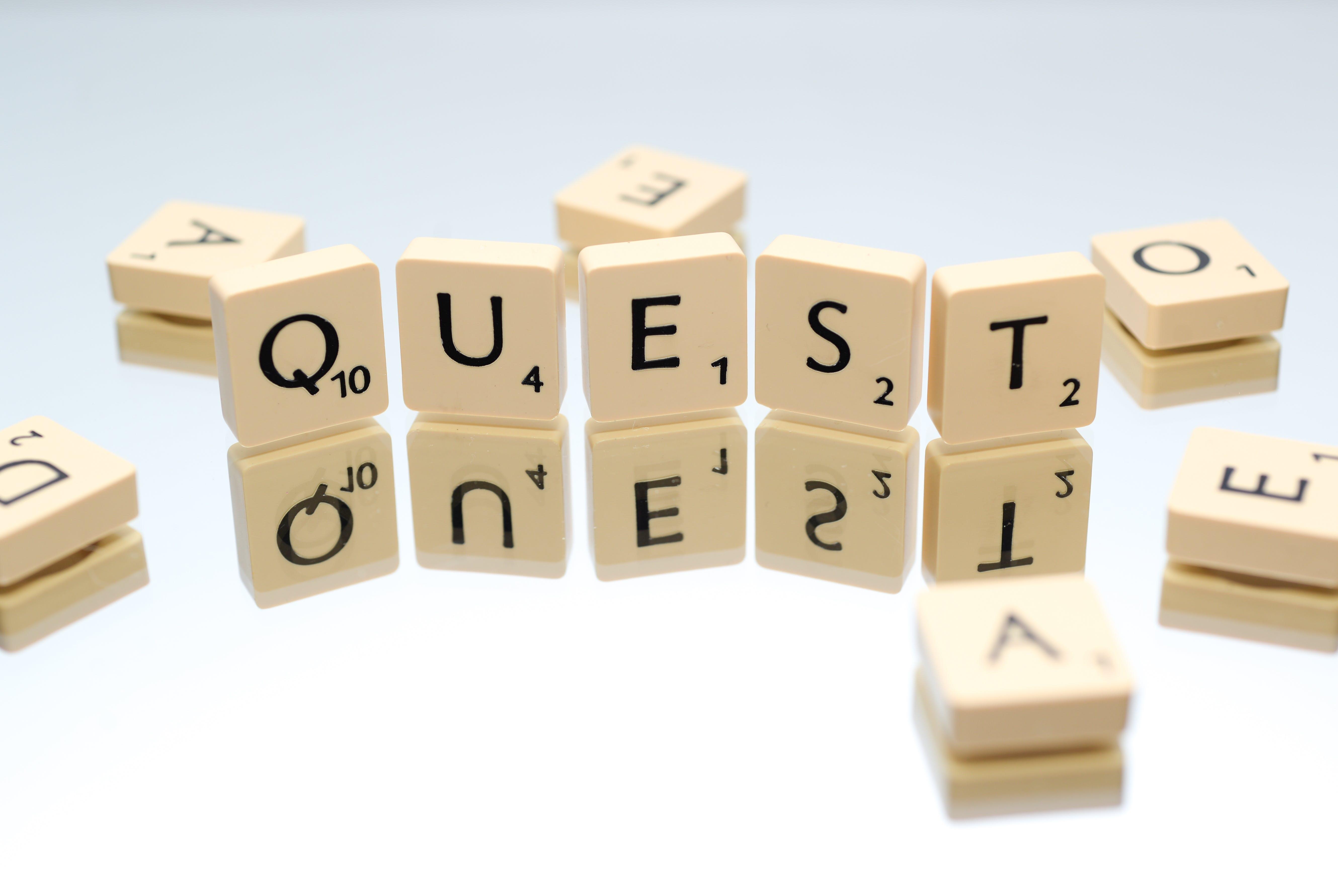 Quest Letter Blocks