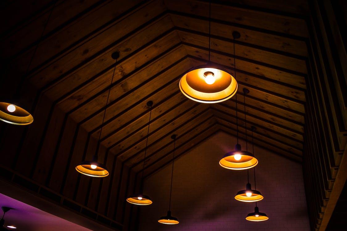 cahaya, dalam ruangan, Desain