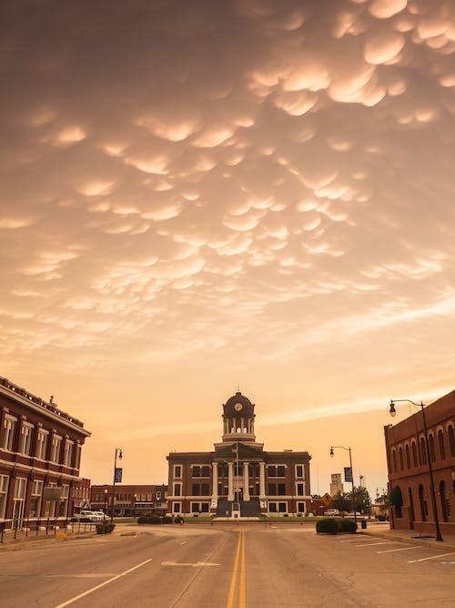 Free stock photo of courthouse, mammatus, oklahoma