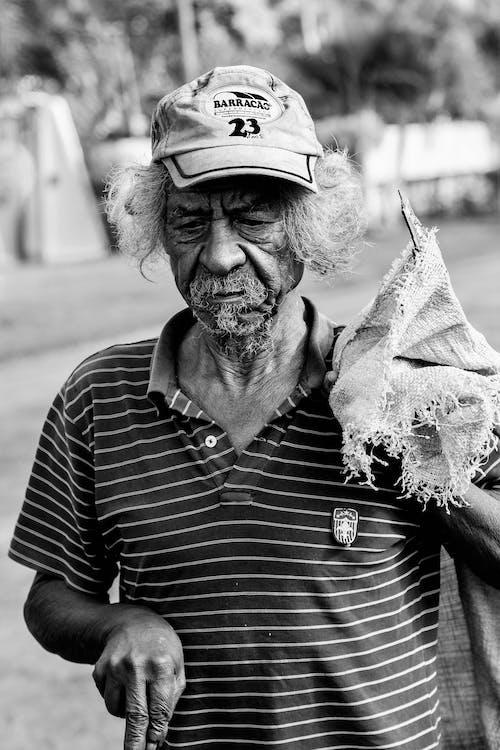 Fotos de stock gratuitas de adulto, anciano, blanco y negro, Brasil