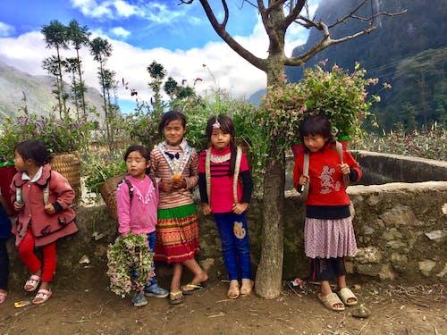 Бесплатное стоковое фото с этнические дети
