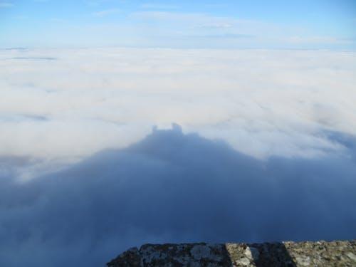 Ảnh lưu trữ miễn phí về bóng, Lâu đài, những đám mây, san marino