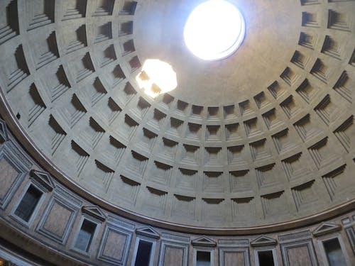 Immagine gratuita di pantheon, roma, sole