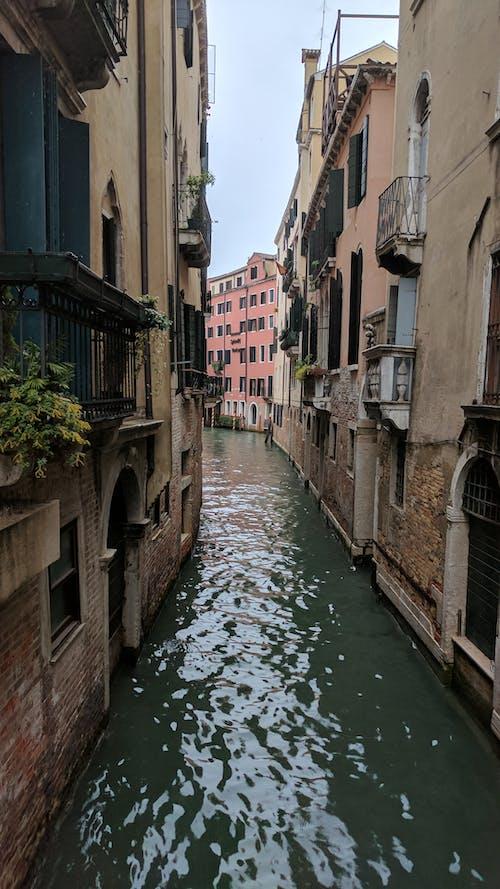Immagine gratuita di corso d'acqua, italia, venezia