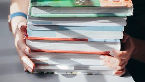 Gratis stockfoto met boeken, close-up, detailopname