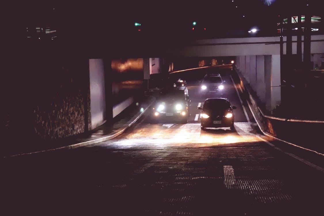 가벼운, 고속도로, 교통