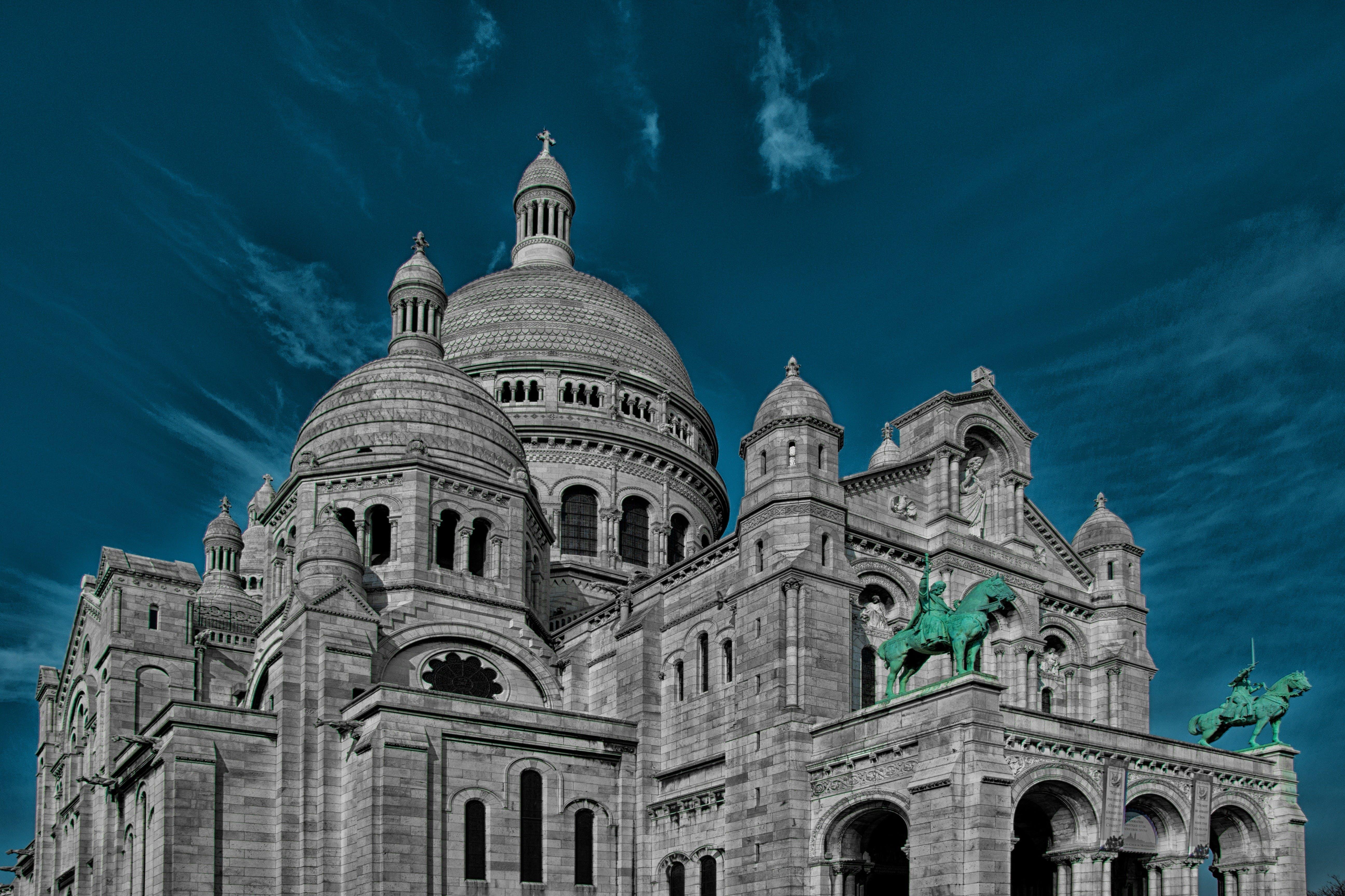 Basilica of the Sacred Heart of Paris, church, france
