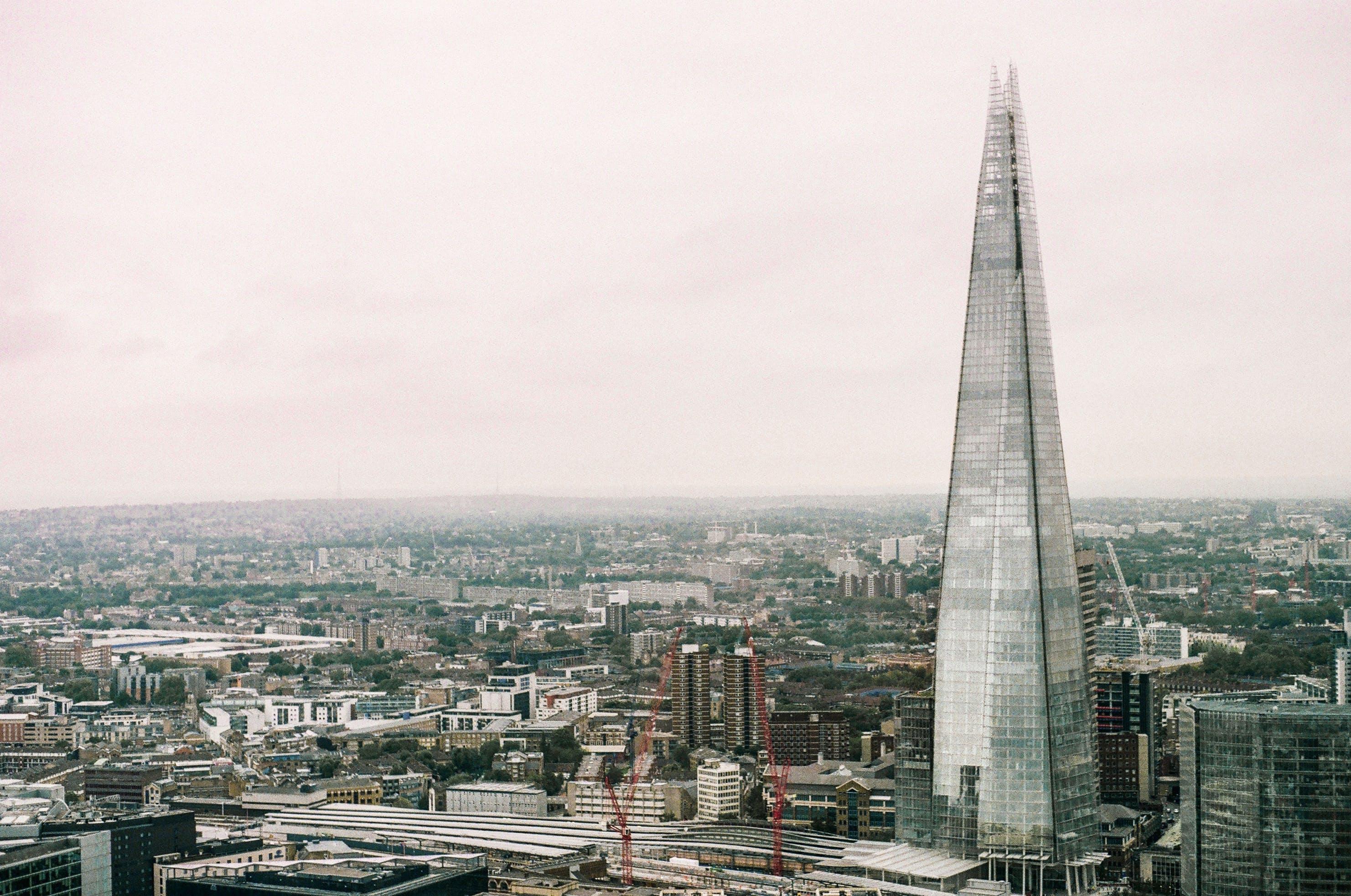 イギリス, ガラス, シティ, シャードの無料の写真素材