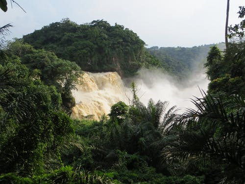 Immagine gratuita di cascata, repubblica democratica del congo, zongo falls