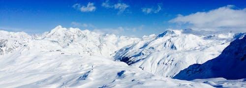 감기, 겨울, 눈, 산의 무료 스톡 사진