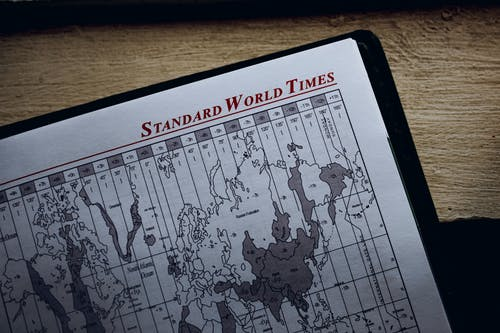 Standard World Times title in diary with illustration