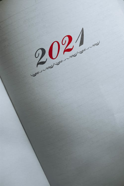 Fotos de stock gratuitas de 2021, abierto, agenda
