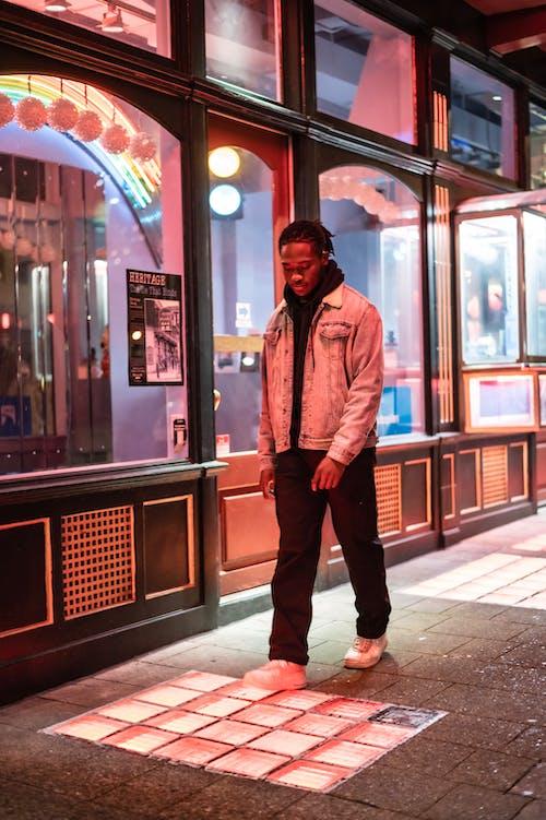 Kostenloses Stock Foto zu abend, afroamerikanischer mann, aussehen