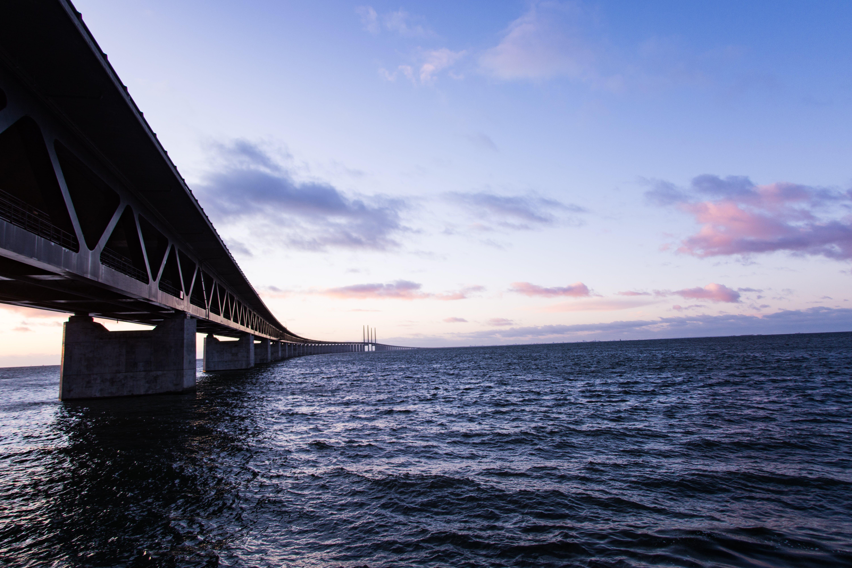 Bridge over Body of Water Photo