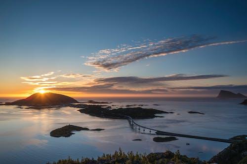 Безкоштовне стокове фото на тему «Арктика, горизонт, Захід сонця, краєвид»