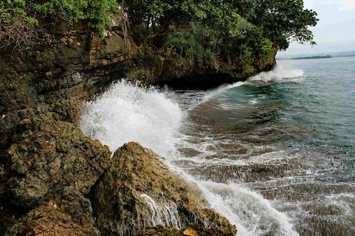 Free stock photo of beach, beach waves, cliff coast