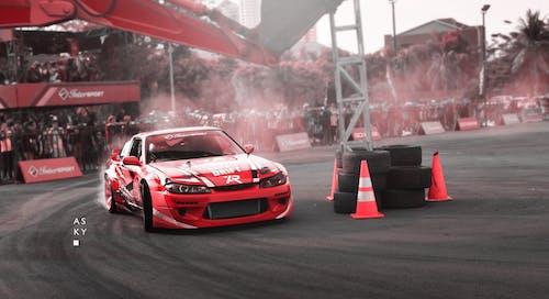 Free stock photo of car, circuit, drift